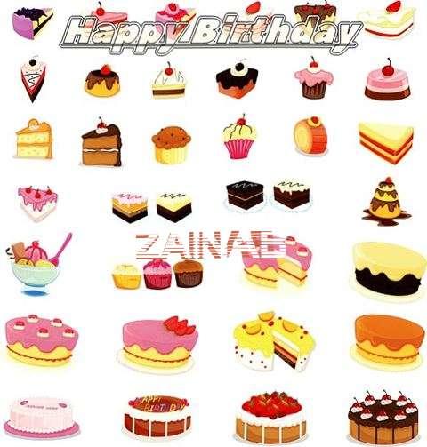 Birthday Images for Zainab