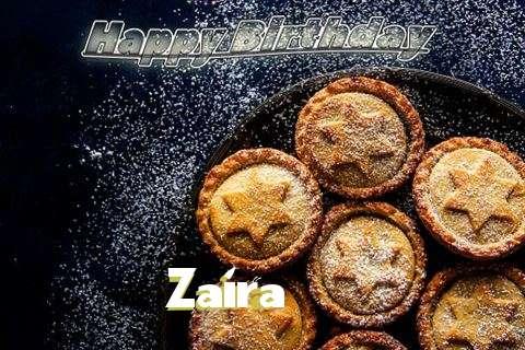 Happy Birthday Wishes for Zaira