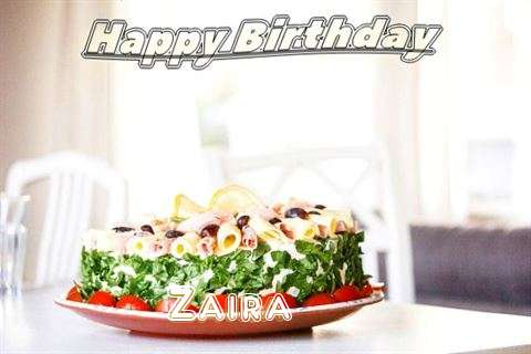Happy Birthday to You Zaira