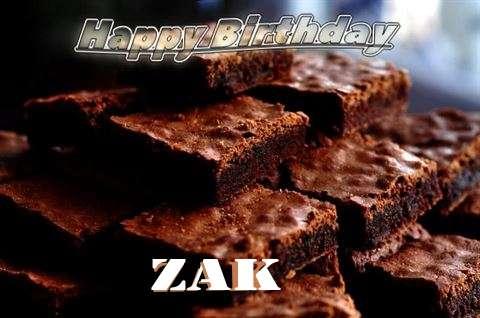 Birthday Images for Zak