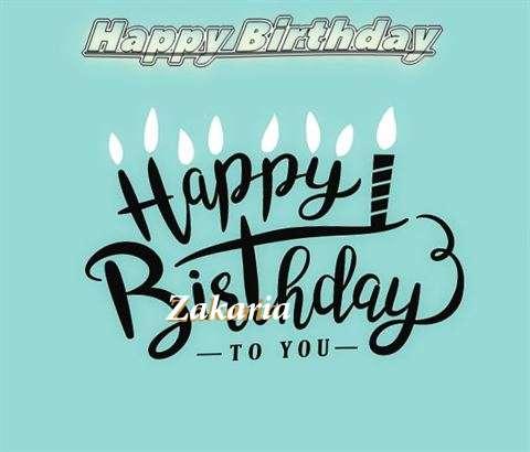 Happy Birthday Zakaria