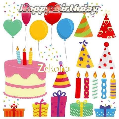 Happy Birthday Wishes for Zakaria