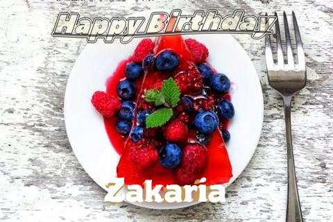 Happy Birthday Cake for Zakaria
