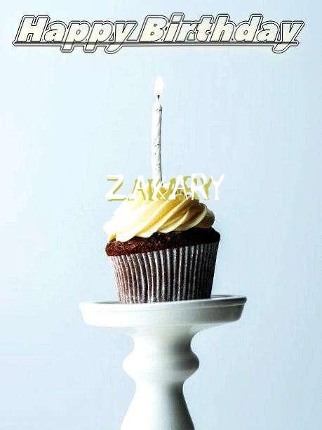 Happy Birthday Zakary Cake Image