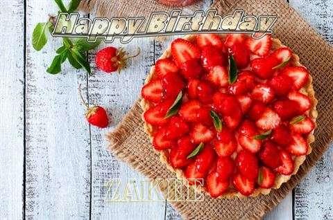 Happy Birthday to You Zakee
