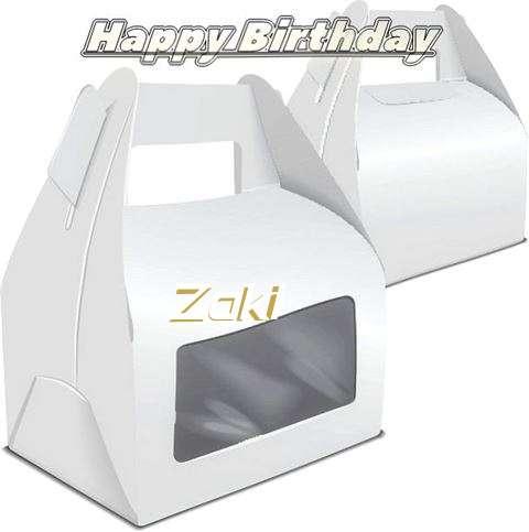 Happy Birthday Wishes for Zaki