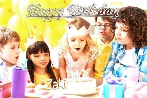 Happy Birthday to You Zakir
