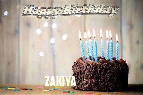 Happy Birthday Zakiya