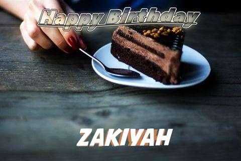 Birthday Wishes with Images of Zakiyah