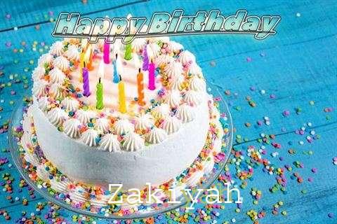 Happy Birthday Wishes for Zakiyah