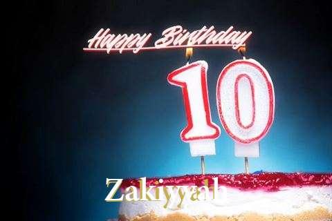 Birthday Wishes with Images of Zakiyyah