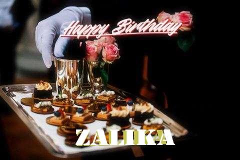 Happy Birthday Cake for Zalika