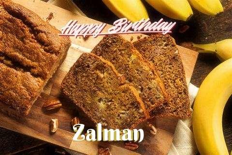 Happy Birthday Wishes for Zalman