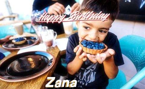 Happy Birthday to You Zana