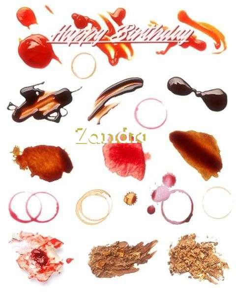 Birthday Wishes with Images of Zandra