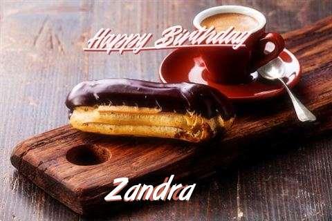 Happy Birthday Wishes for Zandra
