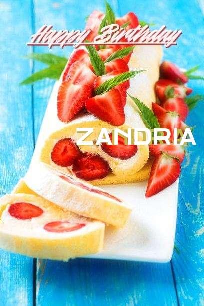 Birthday Wishes with Images of Zandria