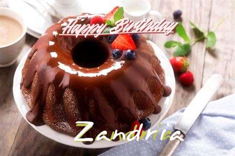 Happy Birthday Wishes for Zandria
