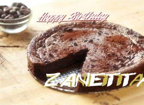Happy Birthday Zanetta