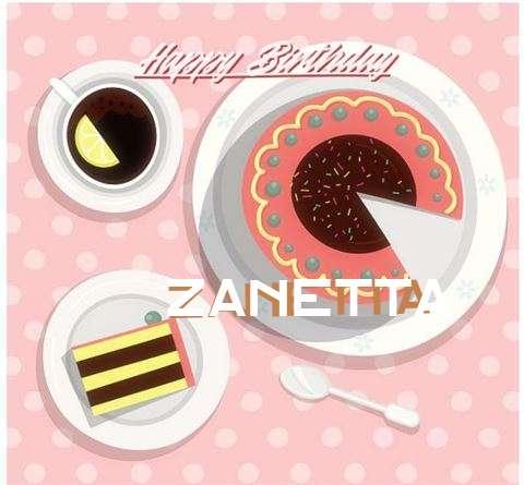 Happy Birthday to You Zanetta