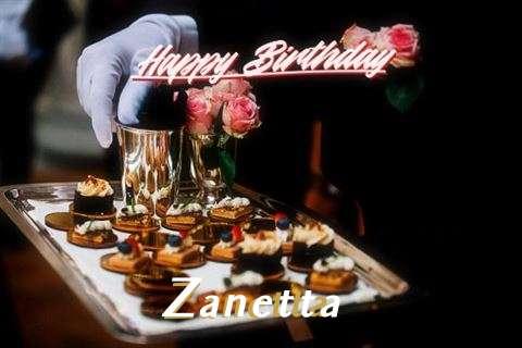 Happy Birthday Cake for Zanetta