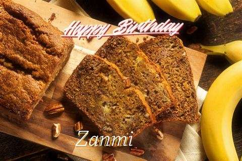 Happy Birthday Wishes for Zanmi
