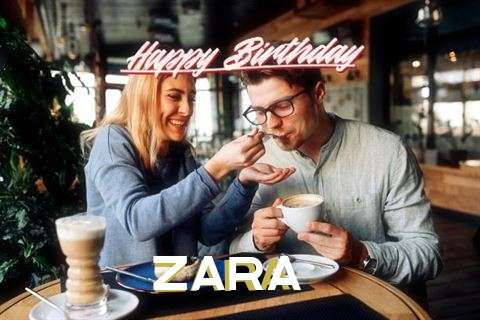 Happy Birthday Wishes for Zara
