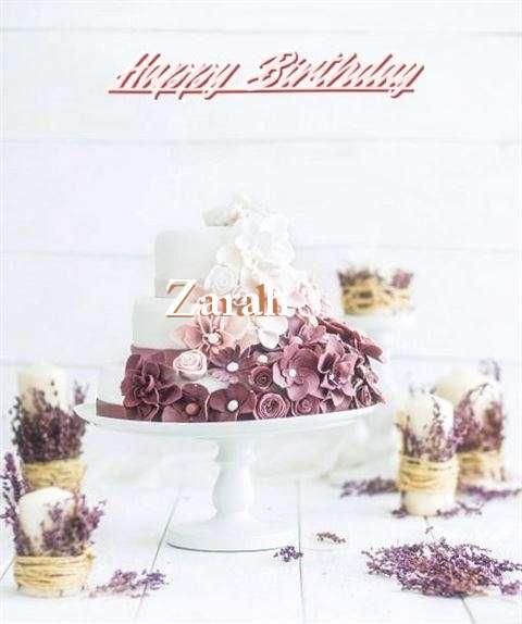 Happy Birthday to You Zarah