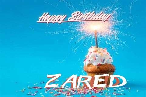 Happy Birthday Cake for Zared