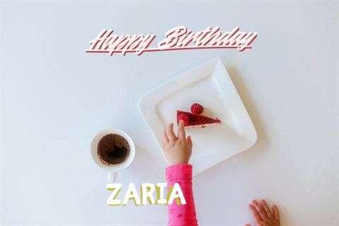 Happy Birthday Zaria Cake Image