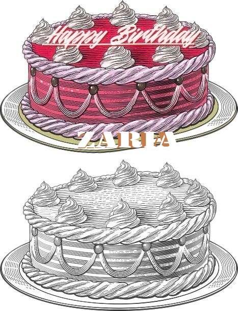 Happy Birthday Wishes for Zaria