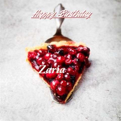 Happy Birthday to You Zaria