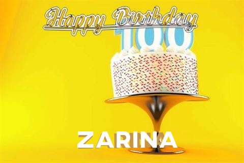 Happy Birthday Wishes for Zarina