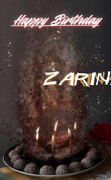 Happy Birthday Zarinah