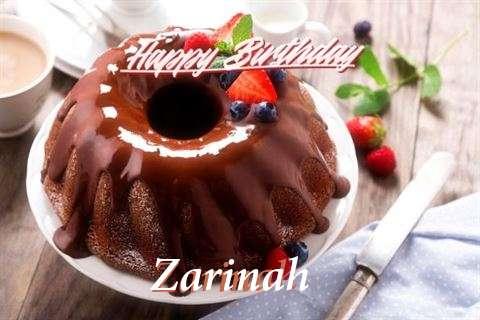 Happy Birthday Wishes for Zarinah