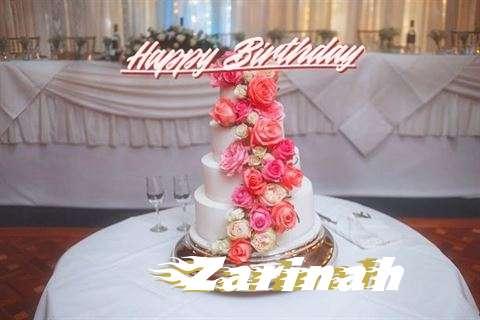 Happy Birthday to You Zarinah