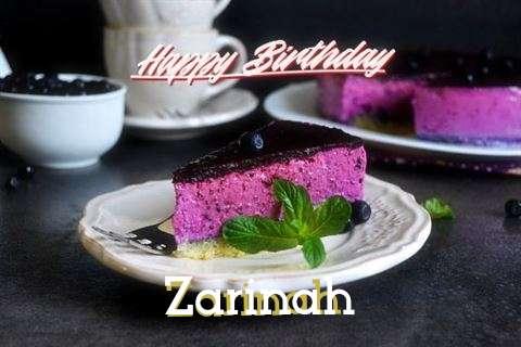 Wish Zarinah