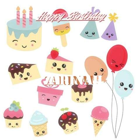Happy Birthday Cake for Zarinah