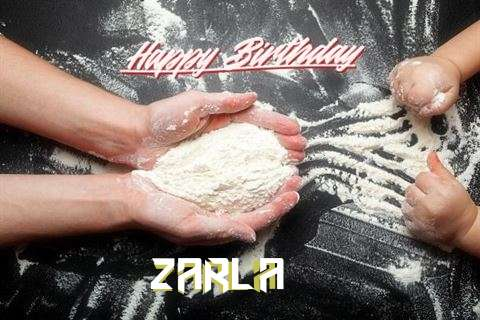 Happy Birthday Zarla Cake Image