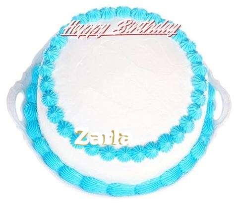 Happy Birthday Cake for Zarla