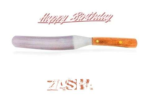 Birthday Wishes with Images of Zasha