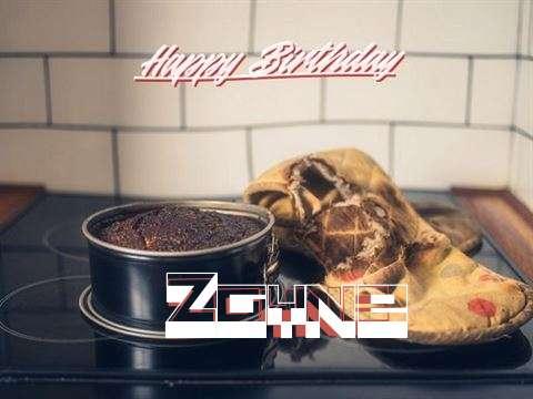 Happy Birthday Zayne Cake Image