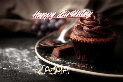 Happy Birthday Cake for Zayra