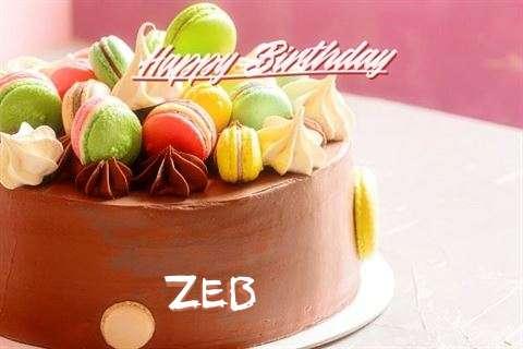 Happy Birthday Zeb