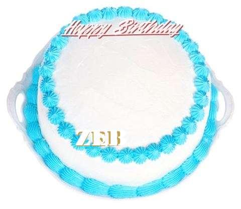 Happy Birthday Cake for Zeb