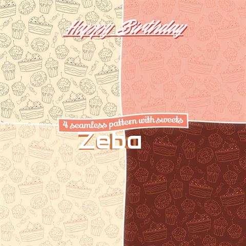 Happy Birthday to You Zeba