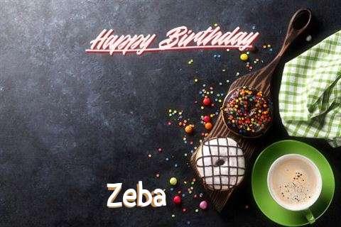 Happy Birthday Cake for Zeba
