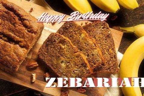 Happy Birthday Wishes for Zebariah