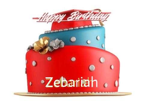 Happy Birthday to You Zebariah