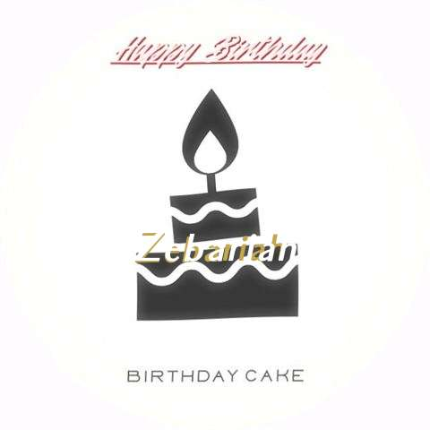 Zebariah Cakes
